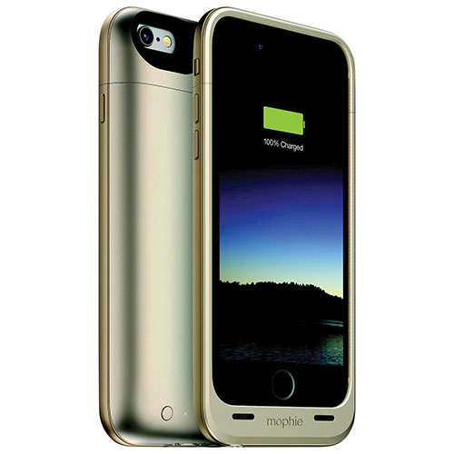 mophie Juice Pack Plus iPhone 6/6s Battery Case - Gold