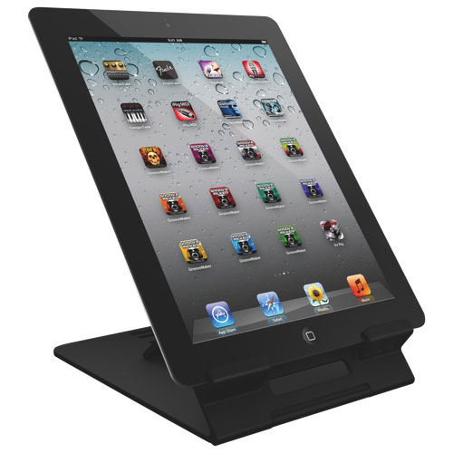 IK Multimedia iKlip Studio Deskstop Stand for iPad (IKLIPSTUDIO) - Black