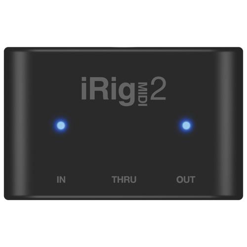 Interface iRig MIDI 2 d'IK Multimedia (IPIRIGMIDI2) - Noir