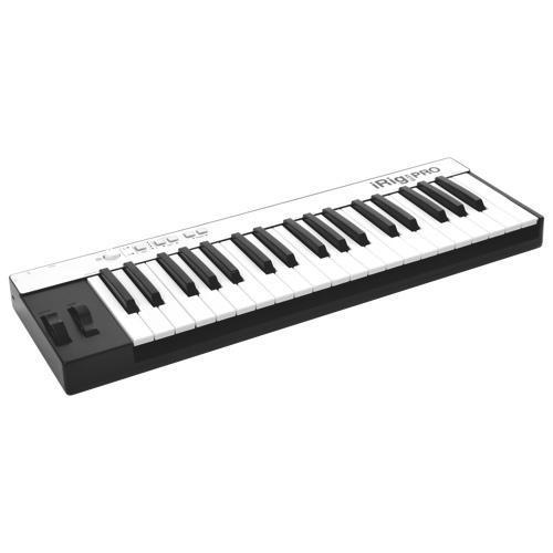 Contrôleur MIDI universel iRig KEYS PRO d'IK Multimedia (IRIGKEYSPRO)