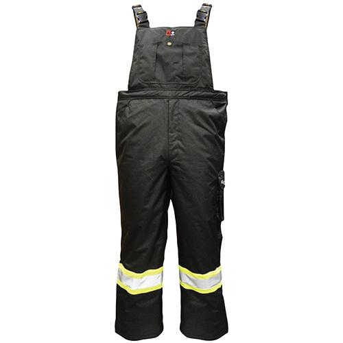 Salopette isolée thermique ignifugée Journeyman Professional de Viking (3957FRP) - Petit - Noir