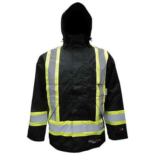 Viking Waterproof Insulated FR Jacket - 2X-Large - Black