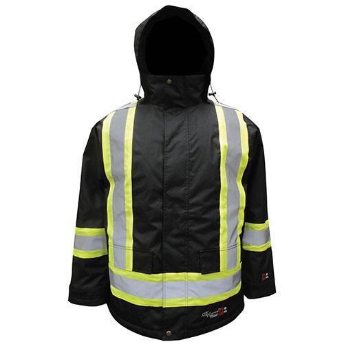 Viking Waterproof Insulated FR Freezer Jacket - 2X-Large - Black