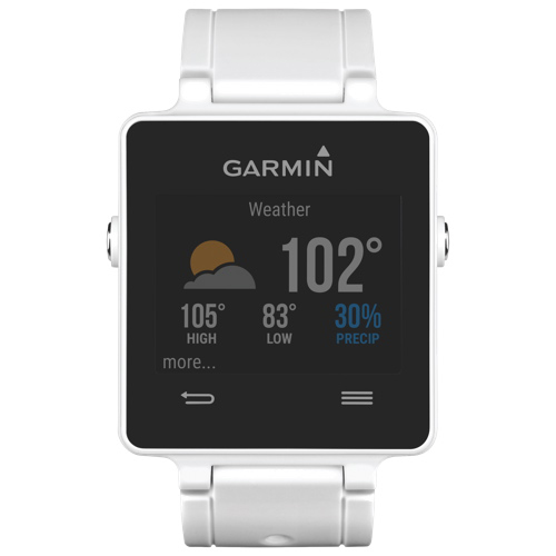 Garmin Vivoactive Gps Watch Large White