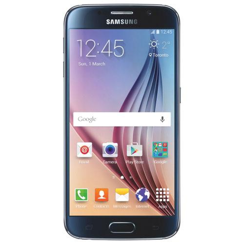 Téléphone intelligent Galaxy S6 de 32 Go de Samsung offert par Fido - Noir - Entente de 2 ans