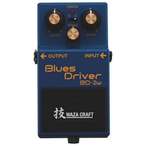 BOSS Waza Craft Custom Blues Driver (BD-2W)