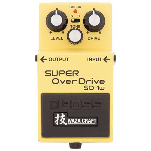 BOSS Waza Craft Custom Super Drive (SD-1W)