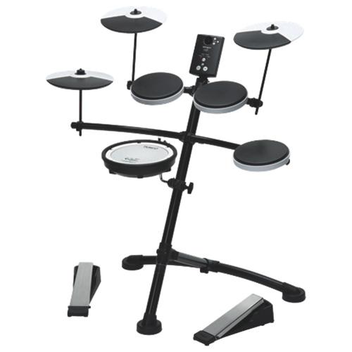Ensemble avec batterie électronique V-Drums de Roland (TD-1KV) - Noir-blanc