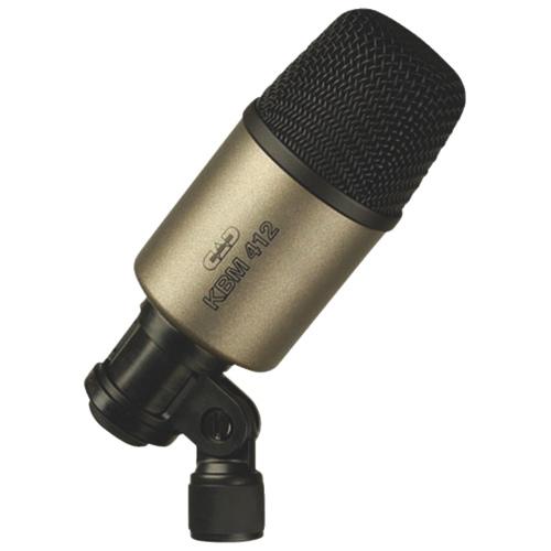 CAD Audio Cardioid Dynamic Kick Drum Microphone (KBM412) - English