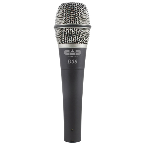 CAD Audio Supercardioid Dynamic Handheld Microphone (D38X3) - 3 Pack - English