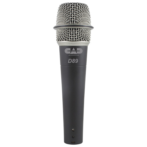 CAD Audio CADLive Supercardioid Dynamic Instrument Microphone (D89) - English