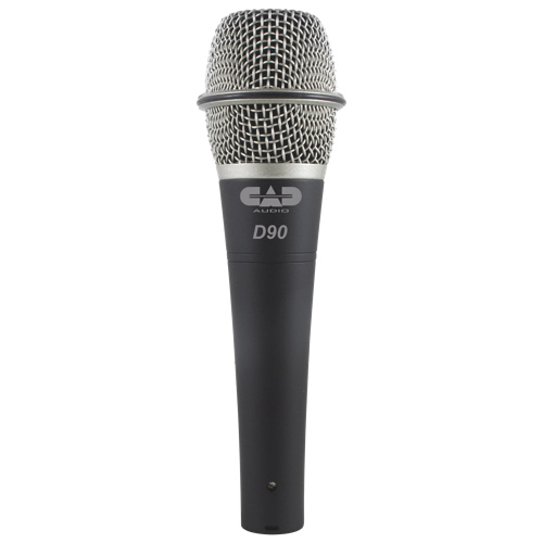 CAD CADLive Audio SuperCardioid Dynamic Handheld Microphone (D90) - English