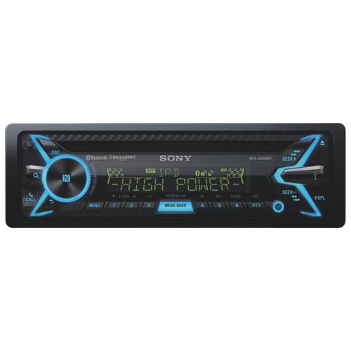Système audio Bluetooth simple DIN de Sony pour l'auto (MEXXB100BT)