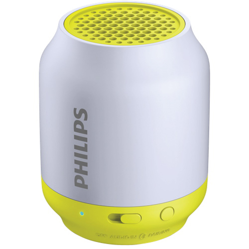 Haut-parleur sans fil Bluetooth BT50 de Philips - Gris