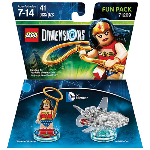 LEGO Dimensions DC Comics Wonder Woman Fun Pack