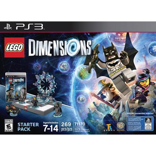 Ensemble de démarrage LEGO Dimensions (PS3)