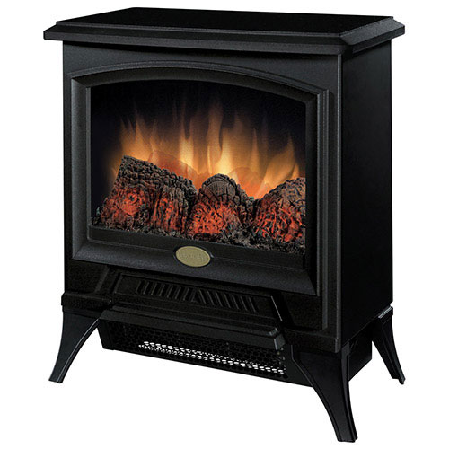 Dimplex Freestanding Electric Stove Fireplace (CS-12056A) - Black