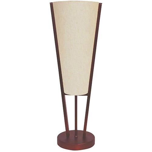 Lampe de table Fungiga d'Aurora Lighting (ECT-DL4833202) - Bronze brossé à l'huile-lin