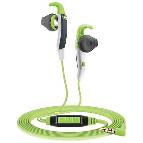 Sennheiser Sprint Sports In-Ear Headphones - Green/Grey