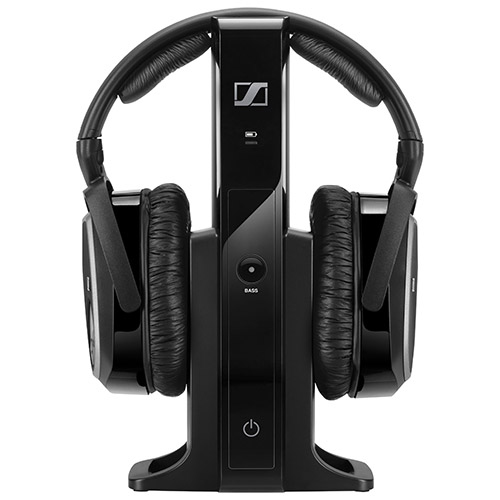 Sennheiser Rs 165 Over Ear Sound Isolating Wireless Headphones