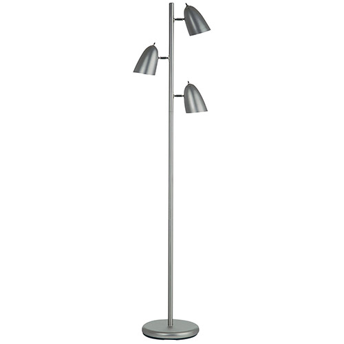 Aurora Lighting Aizen Floor Lamp (ECT-DL4330114) - Satin Chrome