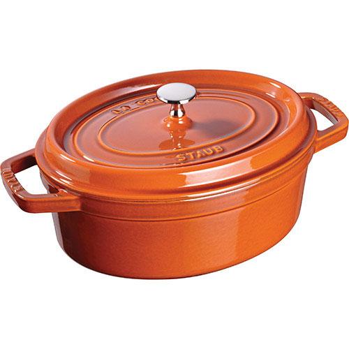 staub 42l cast iron oval cocotte cinnamon - Staub Dutch Oven
