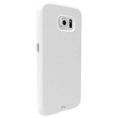 Case-Mate Tough Galaxy S6 Fitted Hard Shell Case - White