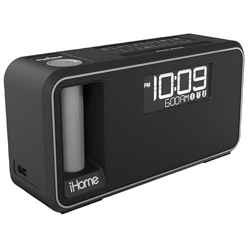 iHome iKN105BC Bluetooth Clock Radio - Black