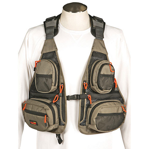 Bushline lokota mesh fishing vest fishing gear best for Best fishing vest
