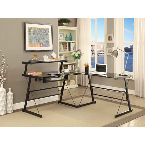 Broderick L-Shaped Corner Desk
