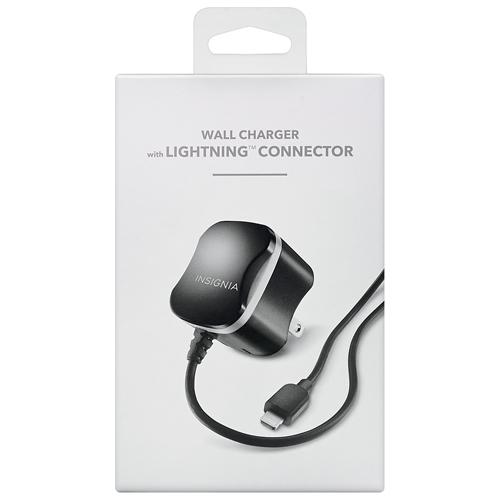 Chargeur c.a. avec câble Lightning de 1 m (3,3 pi) d'Insignia (NS-ACF2A5-C)