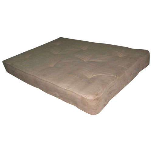 dhp coil futon mattress   double   taupe dhp coil futon mattress   double   taupe   mattresses   best buy      rh   bestbuy ca