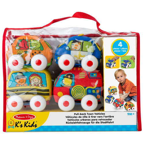 Melissa Doug Pull Back Vehicles Baby And Toddler Toy Set