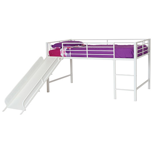 Junior Loft Bed With Slide White Kids Beds Best Buy Canada