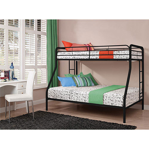 Bunk Bed Twin Double Black Kids Beds Best Buy Canada