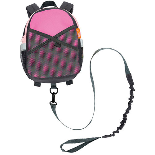 Brica By-My-Side Infant Safety Harness Backpack - Pink