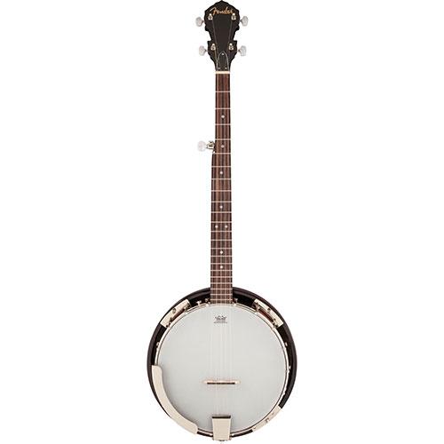 Fender Concert Tone Resonator Banjo - White