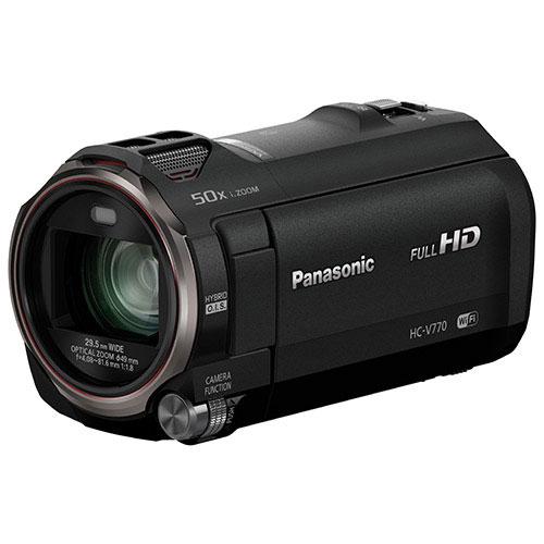 Panasonic HC-V770K HD Flash Memory Camcorder