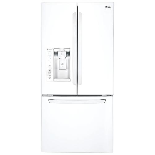 Réfrigérateur de 24,2 pi3 et 32,75 po de LG (LFXS24623W) - Blanc