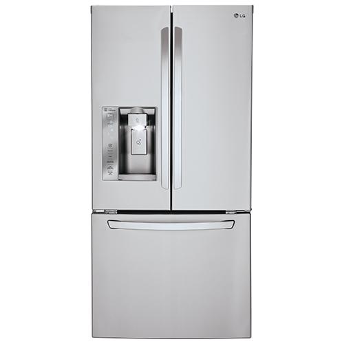 Lg 3275 242 Cu Ft Refrigerator Lfxs24623s Stainless Steel
