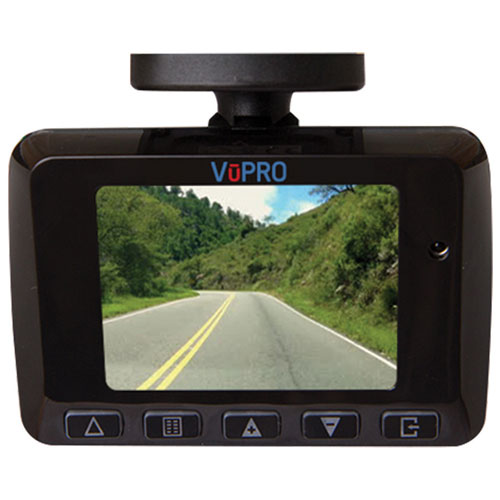 VuPro 1080p LCD Dashcam with GPS (UR005)