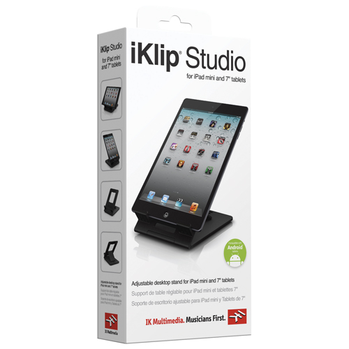 Support pour iPad mini iKlip Studio d'IK Multimedia (IKLIPSTDMINI)