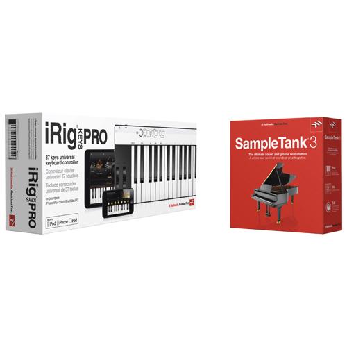IK Multimedia iRigKeys Pro and SampleTank 3 Bundle Pack (CBKPST3HCDI)