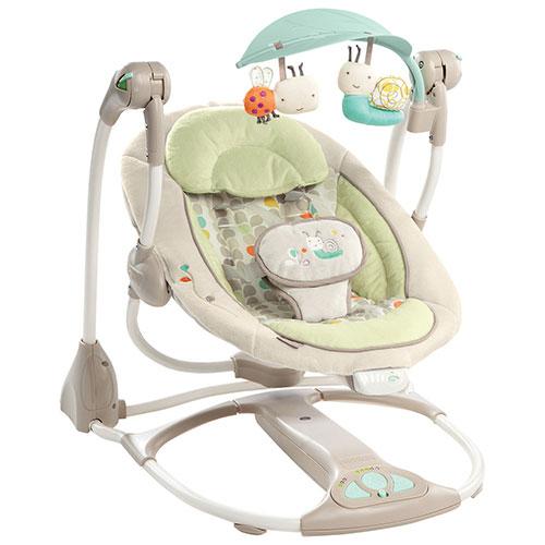 ingenuity convertme swing 2 seat seneca bouncer kii 60198 cream