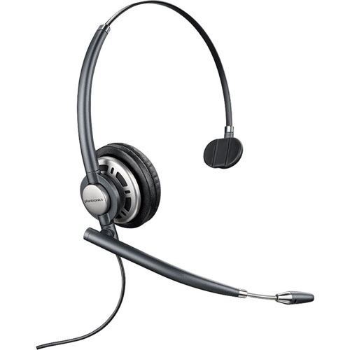 Plantronics EncorePro 710 Headset With Microphone : Computer Headsets