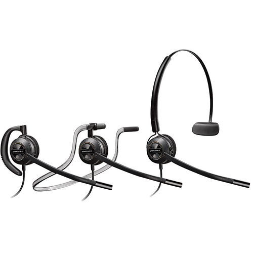 Plantronics EncorePro 500 3-in-1 Convertible Headset with Microphone