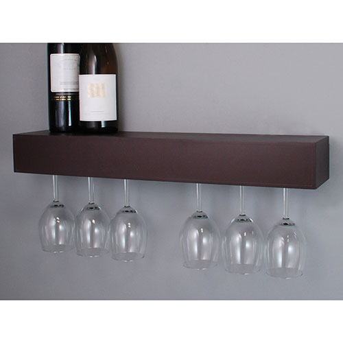 Pinot Wine Glass Holder Shelf Espresso Wine Racks Best Buy Canada