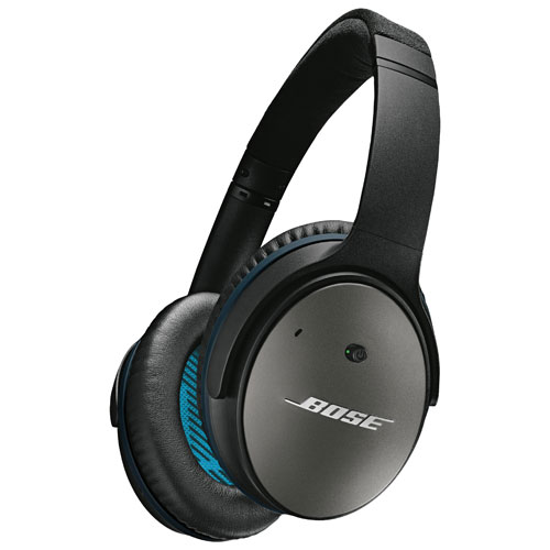 Bose QuietComfort 25 Over-Ear Noise Cancelling Headphones with Mic (Samsung/Android) - Black