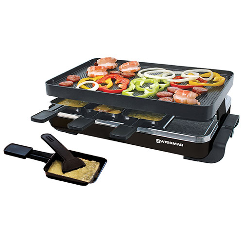 swissmar raclette grill indoor grills sandwich makers. Black Bedroom Furniture Sets. Home Design Ideas