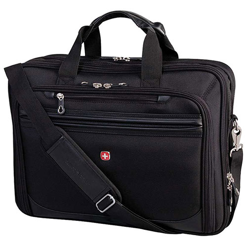 "SWISSGEAR 17.3"" Laptop Business Case - Black"